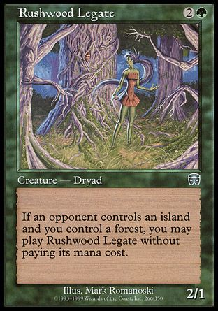 Rushwood Legate, Mercadian Masques