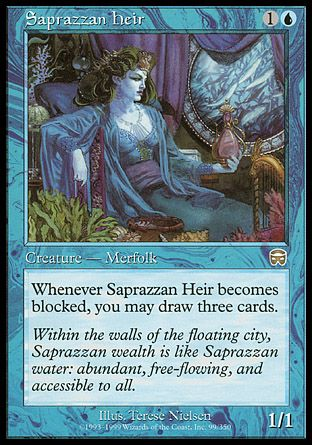 Saprazzan Heir, Mercadian Masques