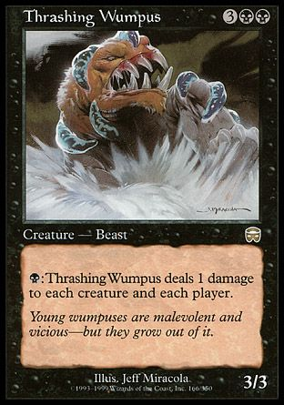 Thrashing Wumpus, Mercadian Masques