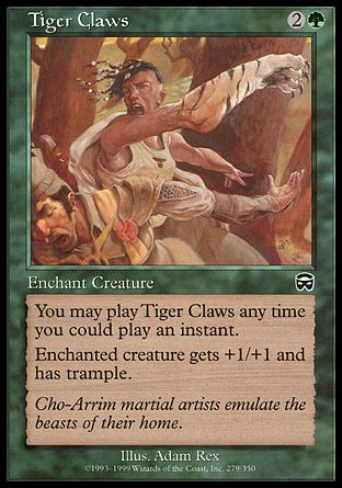 Tiger Claws, Mercadian Masques