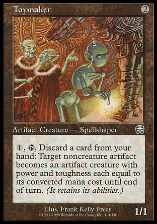 Toymaker, Mercadian Masques