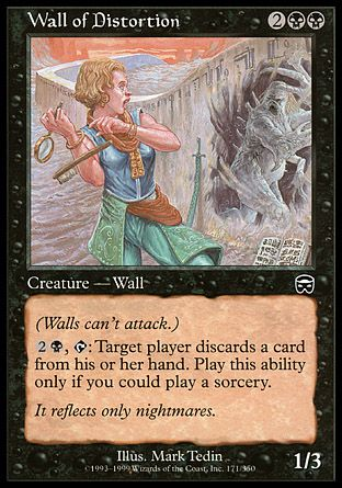 Wall of Distortion, Mercadian Masques