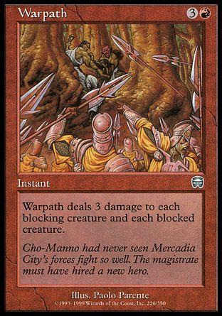 Warpath, Mercadian Masques
