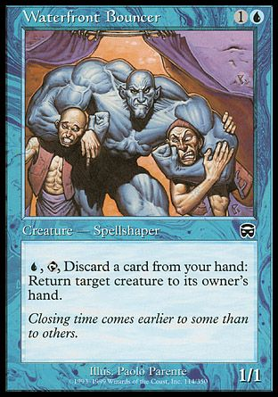 Waterfront Bouncer, Mercadian Masques