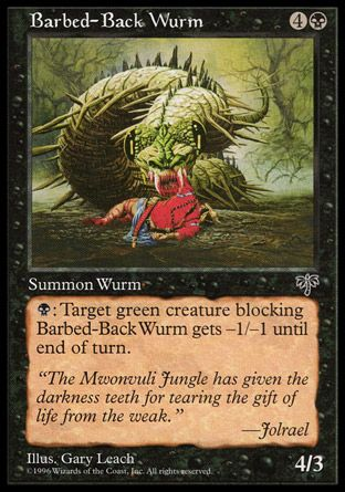 Barbed-Back Wurm, Mirage