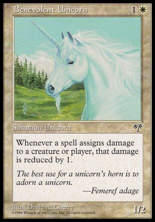 Benevolent Unicorn, Mirage