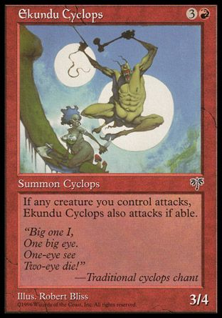 Ekundu Cyclops, Mirage
