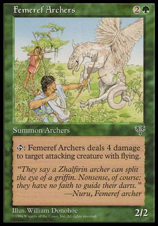 Femeref Archers, Mirage