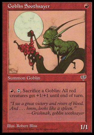 Goblin Soothsayer, Mirage
