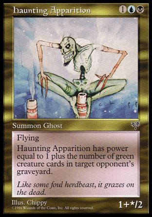Haunting Apparition, Mirage