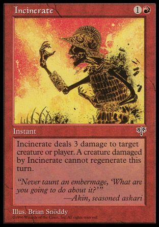 Incinerate, Mirage