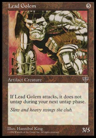 Lead Golem, Mirage