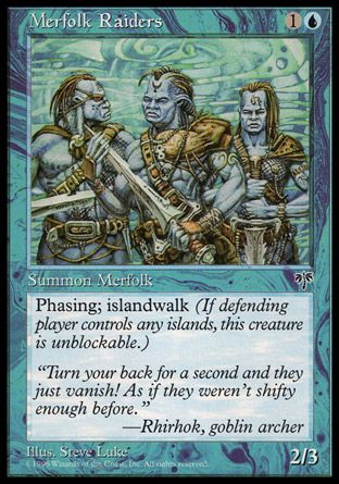 Merfolk Raiders, Mirage