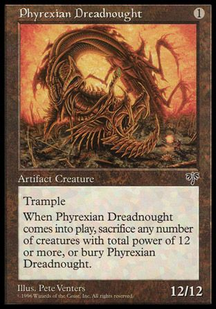 Phyrexian Dreadnought, Mirage
