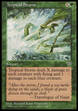 Tropical Storm, Mirage