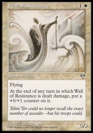 Wall of Resistance, Mirage