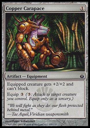 Copper Carapace, Mirrodin Besieged