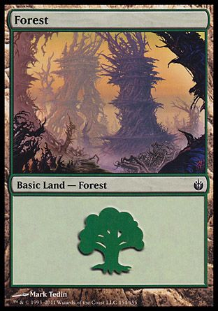 Forest, Mirrodin Besieged