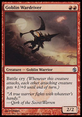 Goblin Wardriver, Mirrodin Besieged