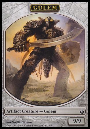 Golem token, Mirrodin Besieged