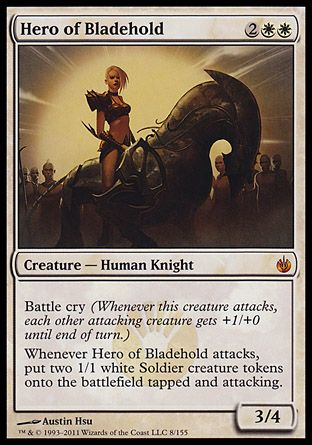 Hero of Bladehold, Mirrodin Besieged