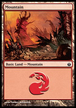 Mountain, Mirrodin Besieged
