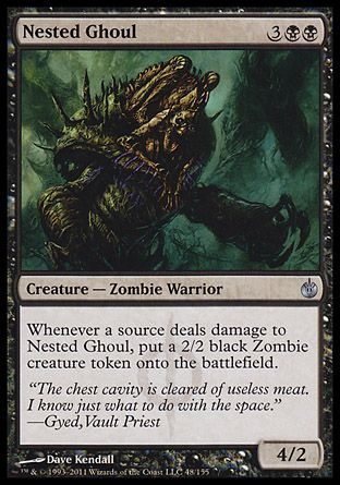Nested Ghoul, Mirrodin Besieged