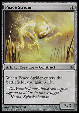 Peace Strider, Mirrodin Besieged