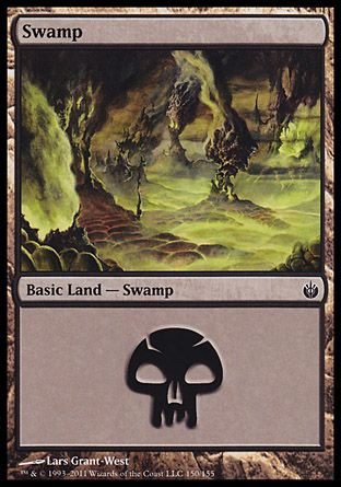 Swamp, Mirrodin Besieged