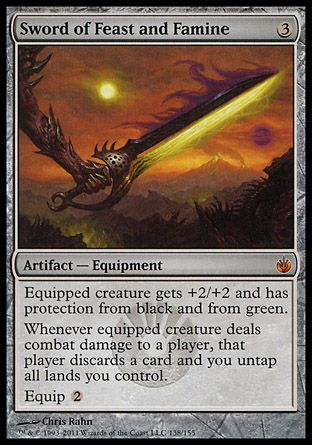 Sword of Feast and Famine, Mirrodin Besieged