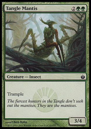 Tangle Mantis, Mirrodin Besieged