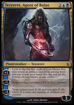 Tezzeret, Agent of Bolas, Mirrodin Besieged