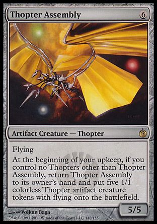 Thopter Assembly, Mirrodin Besieged