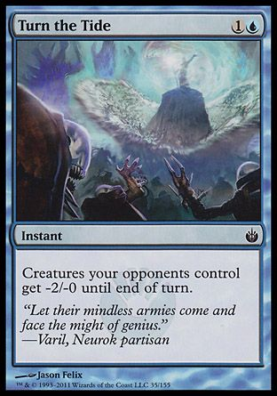 Turn the Tide, Mirrodin Besieged