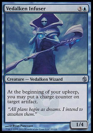 Vedalken Infuser, Mirrodin Besieged
