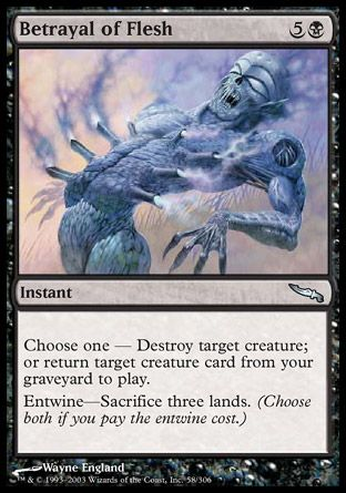 Betrayal of Flesh, Mirrodin