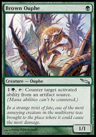 Brown Ouphe, Mirrodin
