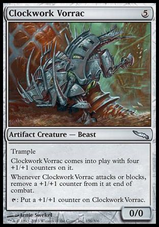 Clockwork Vorrac, Mirrodin
