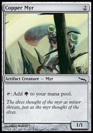 Copper Myr, Mirrodin