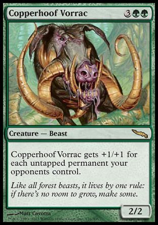 Copperhoof Vorrac, Mirrodin
