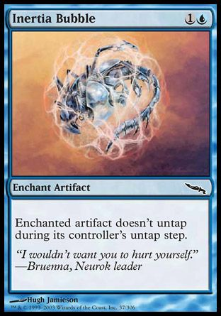 Inertia Bubble, Mirrodin