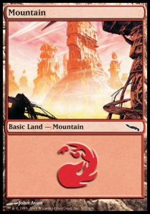 Mountain, Mirrodin