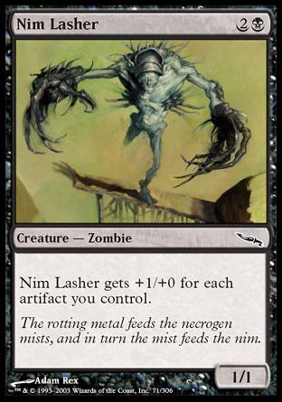 Nim Lasher, Mirrodin