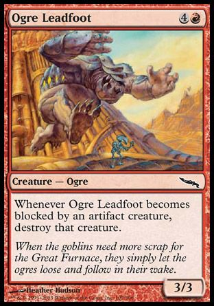 Ogre Leadfoot, Mirrodin
