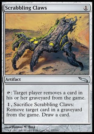 Scrabbling Claws, Mirrodin