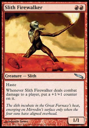 Slith Firewalker, Mirrodin