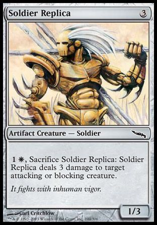 Soldier Replica, Mirrodin