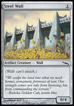 Steel Wall, Mirrodin