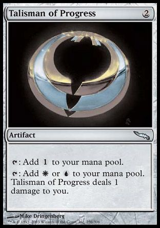 Talisman of Progress, Mirrodin