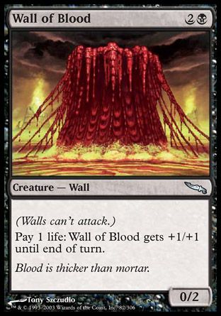 Wall of Blood, Mirrodin